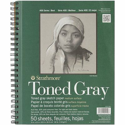 Strathmore Toned Gray Sketch Book