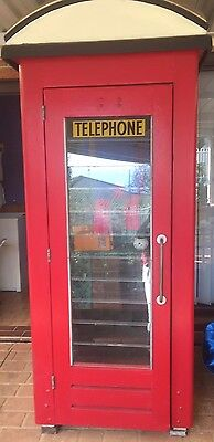 Telecom NSW Temperate Model 1950/60 Telephone Red Box