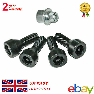 36For Bmw Locking Security Wheel Bolts Nuts Set 36136786419 E46 E87 E90 E60