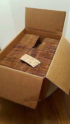 Java Jackets 12-20 oz. size lot of 1000 brown paper coffee cup sleeves USA