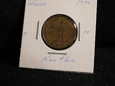 SOUTH KOREA : 1979    10 WON   COIN     (CIRC.)   (#3066)  KM # 6a