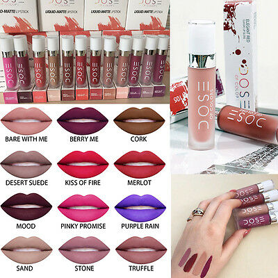 12 Colors Dose Of Colors Liquid Matte Waterproof Makeup Lipstick 100% New Brand