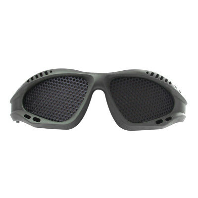 Top Quality Tactical Military Metal Mesh Goggles Airsoft Shooting Glasses