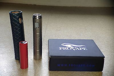 Provari P2 led bleue + batterie 2000mAh + protection serenitygear leather