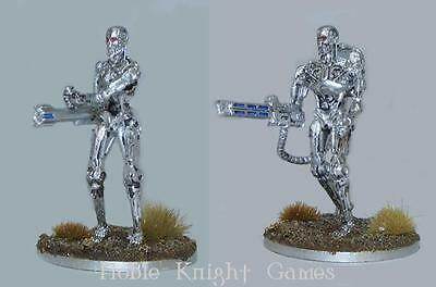 River Horse Terminator Genisys Heavy Weapons Endoskeletons Pack MINT