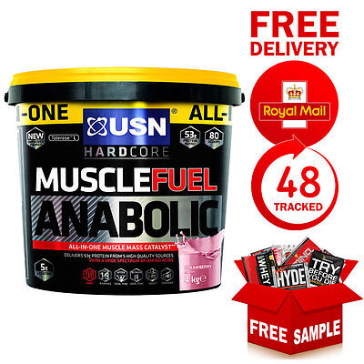 USN Muscle Fuel Anabolic All In One Protein Muscle Builder 4kg 8.8lbs