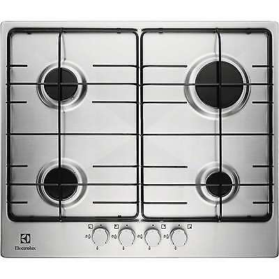Electrolux EGG6242NOX | Stainless Steel Gas Hob, 4 burners, 60cm, Auto Ignition