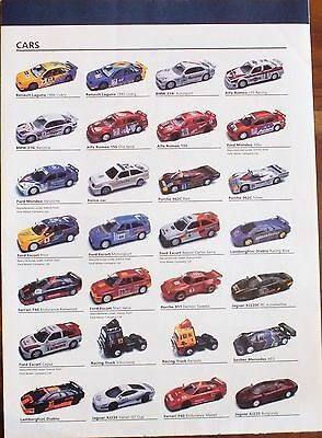 Scalextric 1997 Poster Catalogue. Very Good Condition.. Uk Dispatch.