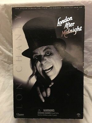 "Sideshow Toys Lon Chaney London After Midnight 12"" Silver Screen Edition Figure"