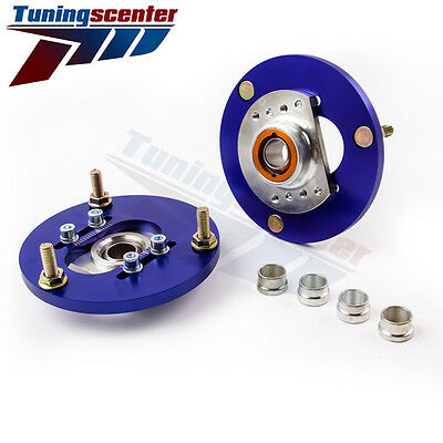 Front Coilover Camber Plate For BMW 3 Series E46  318i/Ci/ti Top Upper Mount TCT