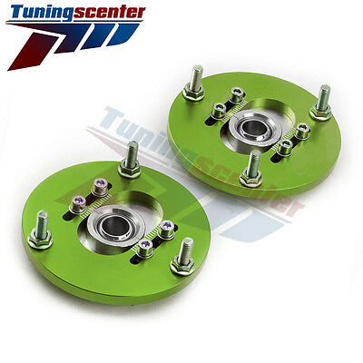 Top Mount For BMW E46 320 M3 Coilover adjustable Camber Plate 320 323 325 328 TC