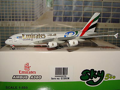 Sky 500 Emirates A380 RUGBY World Cup 2011 A6-EDN 1/500 **Free S&H**