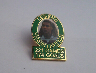 Celtic Legend Badge Henrik Larsson