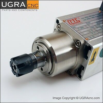 Professional GMT Spindle Motor - Air Cooled 0.8 kW ER16 CNC Router Mill