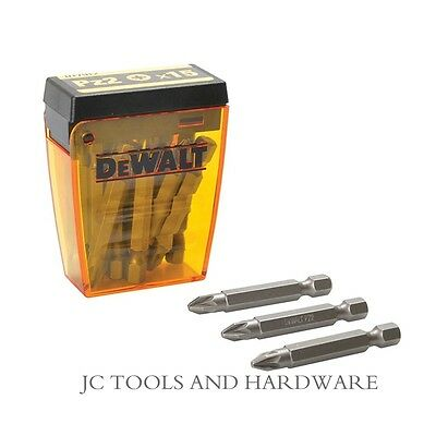 DeWalt 50mm PH2 Phillips Screwdriver Bits DT7913