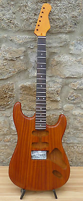 non-trem set HSS - canadian maple neck tint finish - rosew. Griffbr. - 5 Farben