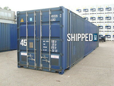 Giant 45Ft High Cube Cargo Worthy Shipping Container - Super Holiday Sale Price