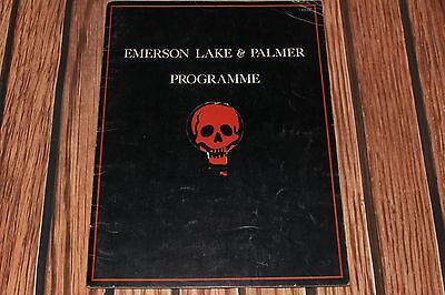 Emerson Lake & Palmer 1977 Tour Program ~ Works I