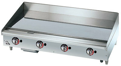 Star 648TCHSF Star-Max 48in Chrome Thermostatic Gas Griddle