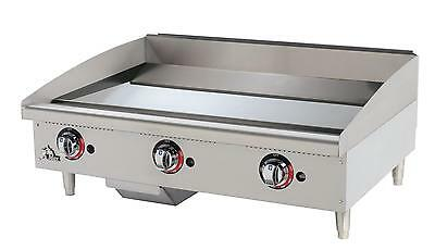 Star 636TCHSF Star-Max 36in Chrome Thermostatic Gas Griddle