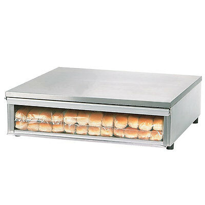 Star SS30BBC Stainless Steel Hot Dog Bun Box 96 Bun Capacity