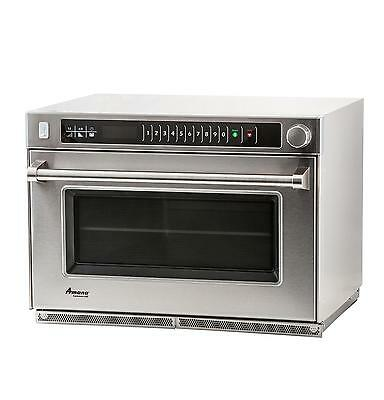 Amana AMSO35 1.6cf Commercial Stackable Steamer Microwave Oven 3500w
