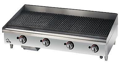 Star 6148RCBF Star-Max Countertop 48in Radiant Gas Charbroiler