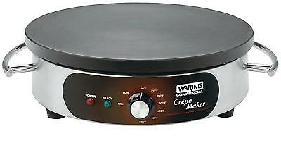 "Waring 16"" Crepe Maker With Heat Resistant Handle 1800W - Wsc160"