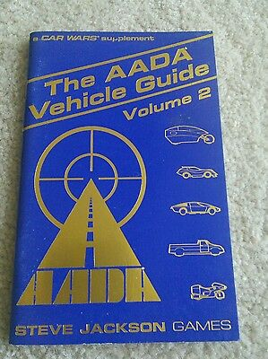 Car Wars AADA Vehicle Guide 2  steve jackson games role-playing d&d tsr