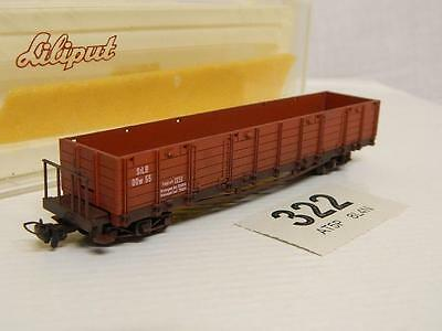 Liliput HOe StLB Type OOw Bogie Open Wagon Weathered + Hand Weathered RN 55