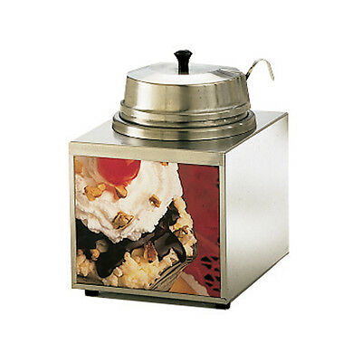 Star 3WLA-W 3.5 Quart Stainless Steel Countertop Food Topping Warmer
