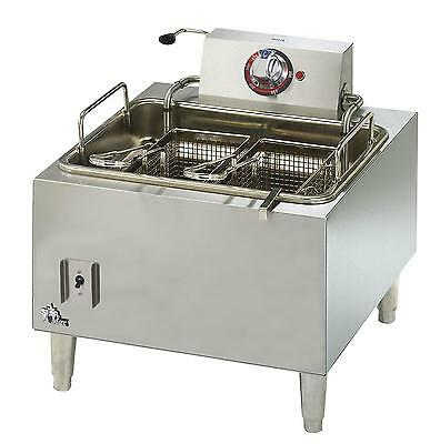 Star 301HLF Star-Max 15LB Countertop Electric Deep Fryer