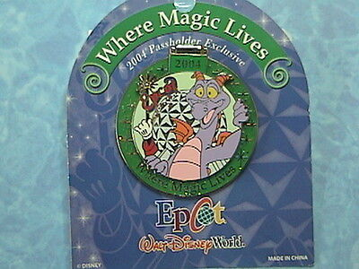 Figment Hinged Epcot  Passholder  Exclusive Wdw Pin New