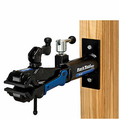 Park Tool PRS-4 W-2 Wall Mounted Bike Repair Stand Highly Adjustable