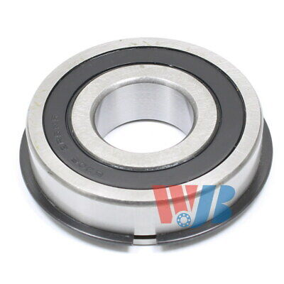 Radial Ball Bearing Wjb 6306-2Rsnr Medium Series 2 Rubber Seals & Retaining Ring