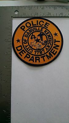 Police Patch Patches Group I Danville Kentucky