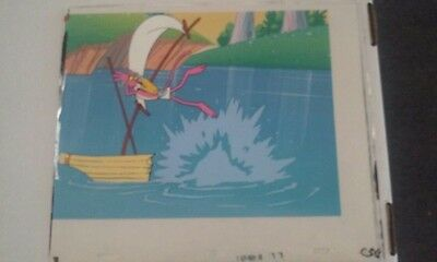 Pink Panther Egyptian Creek Original Animation Cartoon Cel C54
