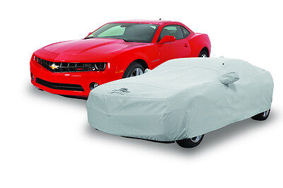 2010-2015 Chevrolet Camaro Custom Fit Black Cotton Indoor Plushweave Car Cover