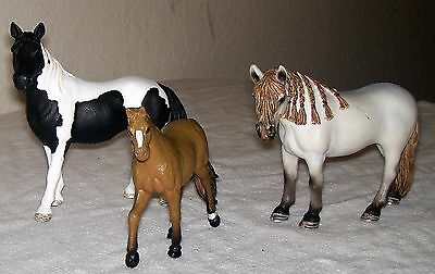 Lot 3 SCHLEICH HORSES, AM Limes 69, Andalusian Mare D-73527, Tennessee Walker