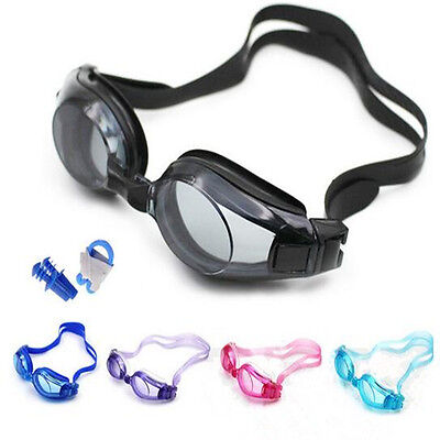 Swimming Goggles Unisex Mens Boys Girls Googles Swimming Pool Googles Clear Lens