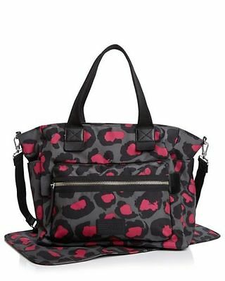 NWT Marc by Marc Jacobs Domo Arigato Leopard Print Elizababy Diaper Bag Tote New