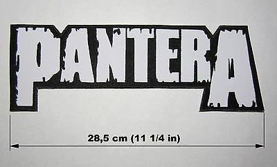 PANTERA logo BACK PATCH embroidered NEW