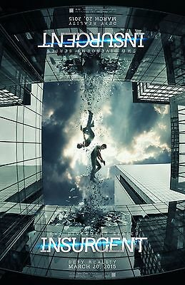 Insurgent Official Movie Poster 2.4x1.5 Metres!! (Divergent series)