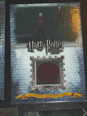 Harry Potter And The Half Blood Prince Ultra Rare Costume Card C5 453/630
