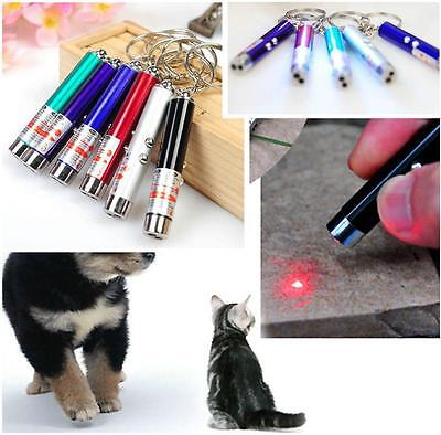 Portable Mini Red Laser Pointer Pen LED For Money Detector Child Pet Cat Toy FW