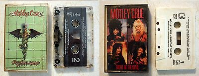 Cassette: Motley Crue: Shout At The Devil: 1983 Elektra Records