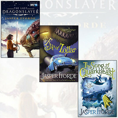 Jasper Fforde Collection Vol (1-3) 3 Books Set (The Last Dragonslayer) New Pack