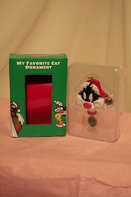 Sylvester My Favourite Cat Tree Ornament