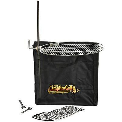 Perfect Campfire Pioneer Campfire Grill - Perfect For A Family Of Four