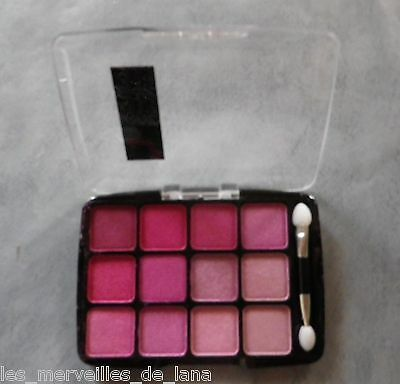 "MAQUILLAGE : OMBRES A PAUPIERES ROSES de marque BLACKSHOW ""PEACH"" NEUF"